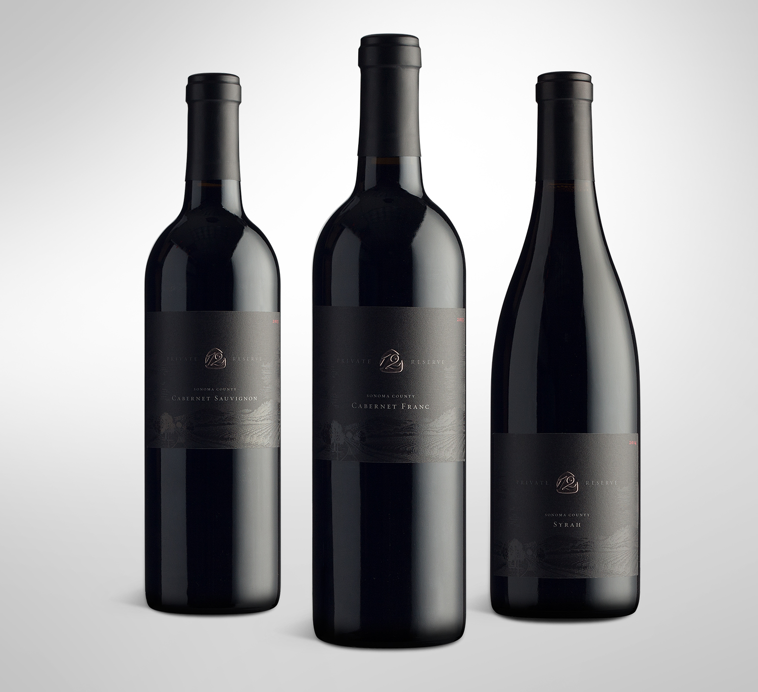 HIghway 12 Private Reserve Wine Labels