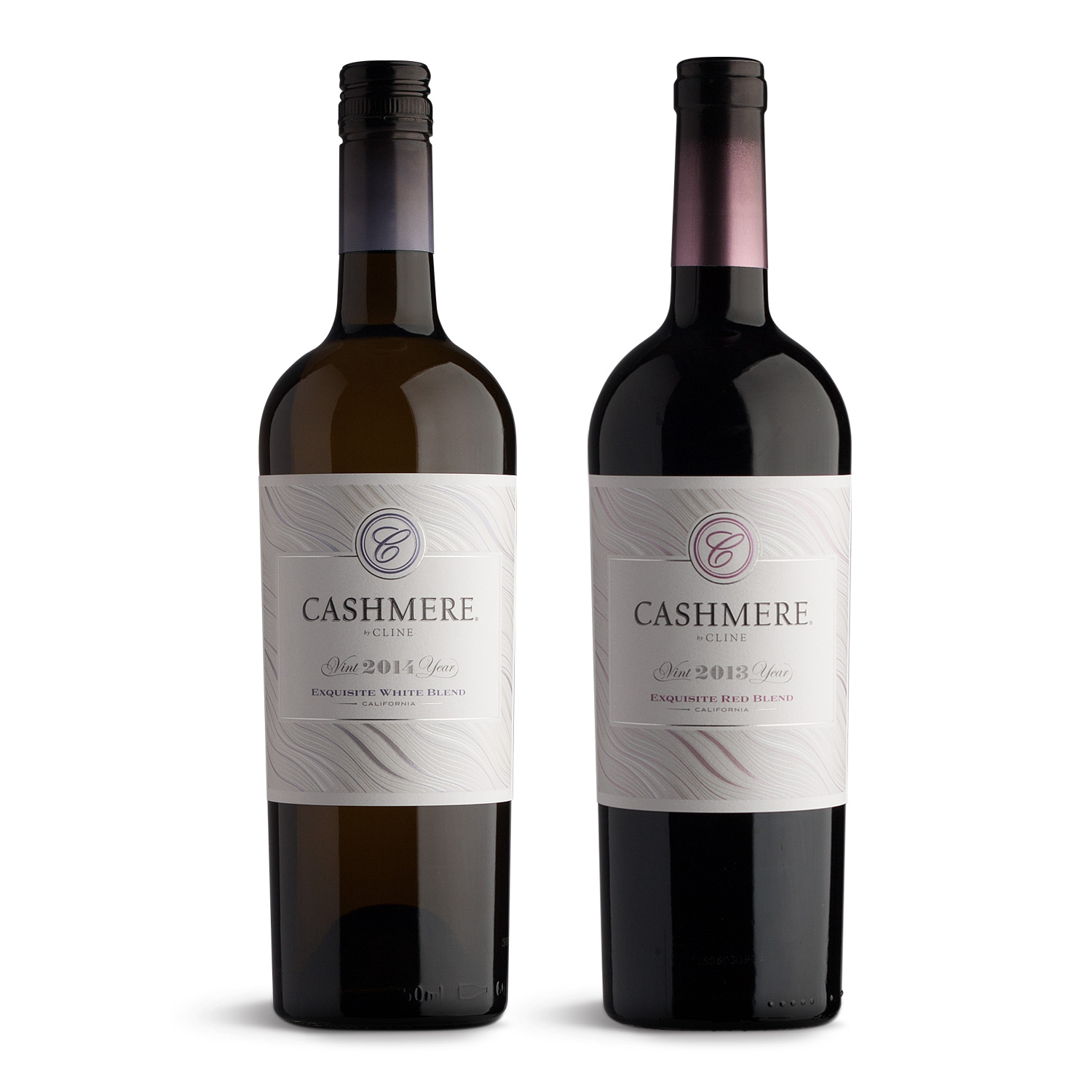Cashmere Wine Labels