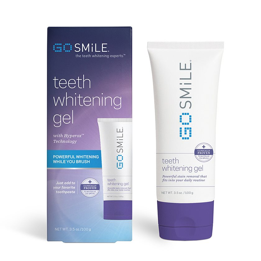 GO SMiLE Whitening Gel Packaging
