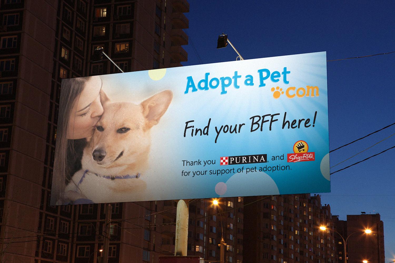 Adopt-A-Pet.com Billboard Design