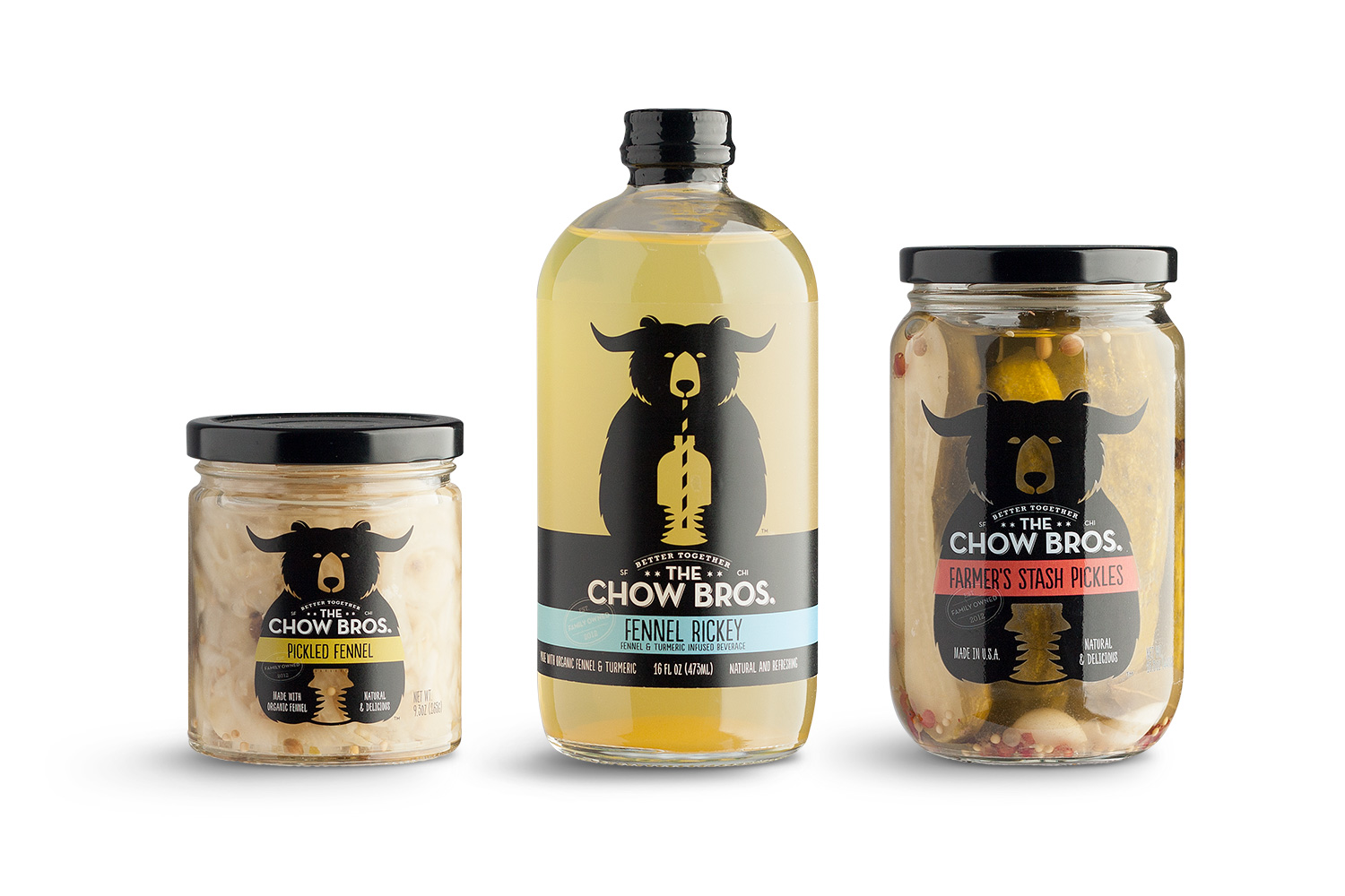 The Chow Bros Packaging Design