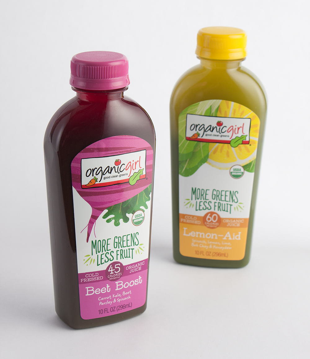 Organic Girl Beet Boost Juice Packaging Design