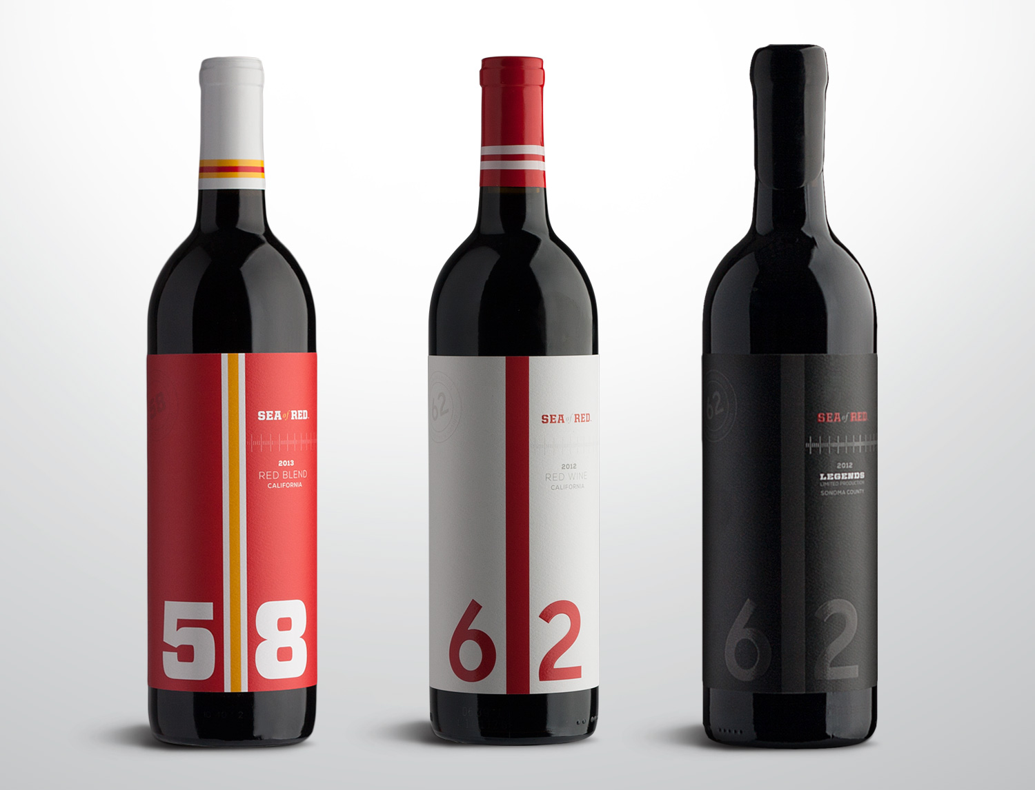 SEA of RED Wines Brand Development