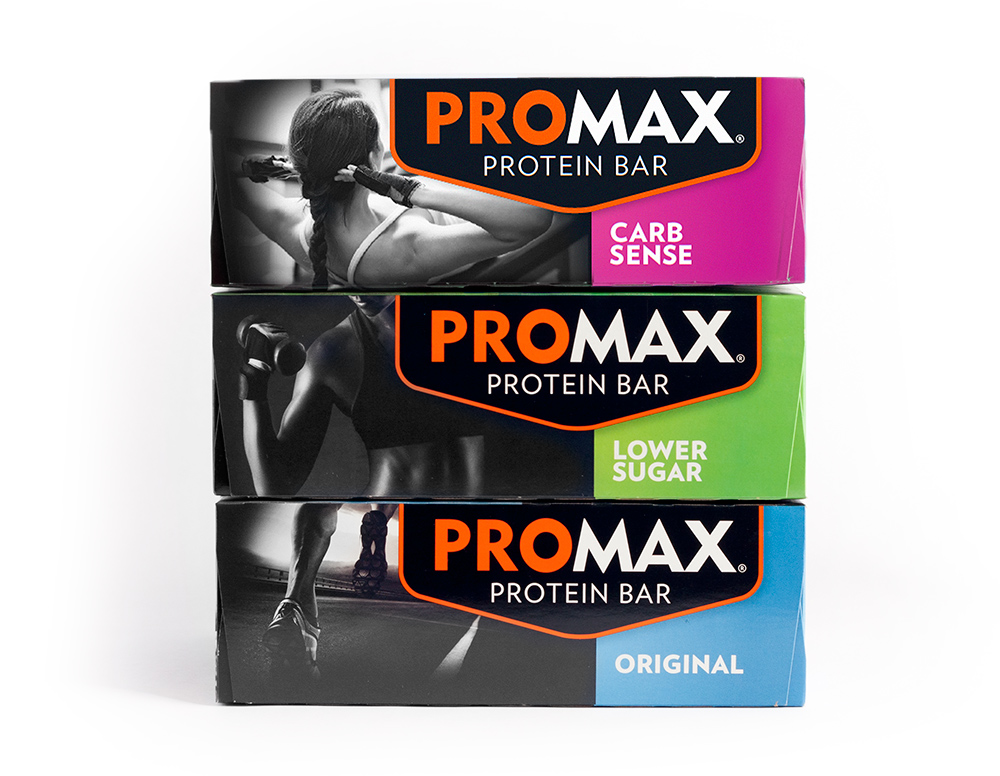Promax Protein Bar Packaging Design