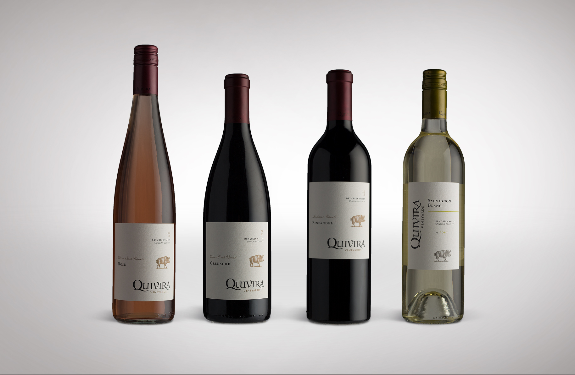 Quivira Vineyards Wine Label Redesign