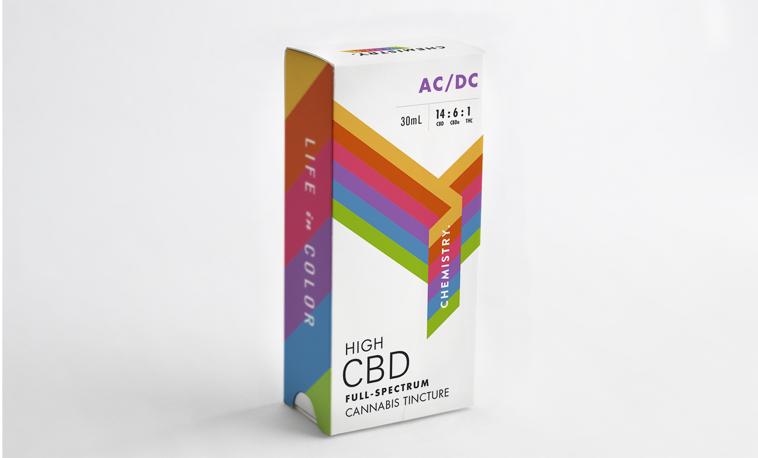 Chemistry CBD Tincture Packaging