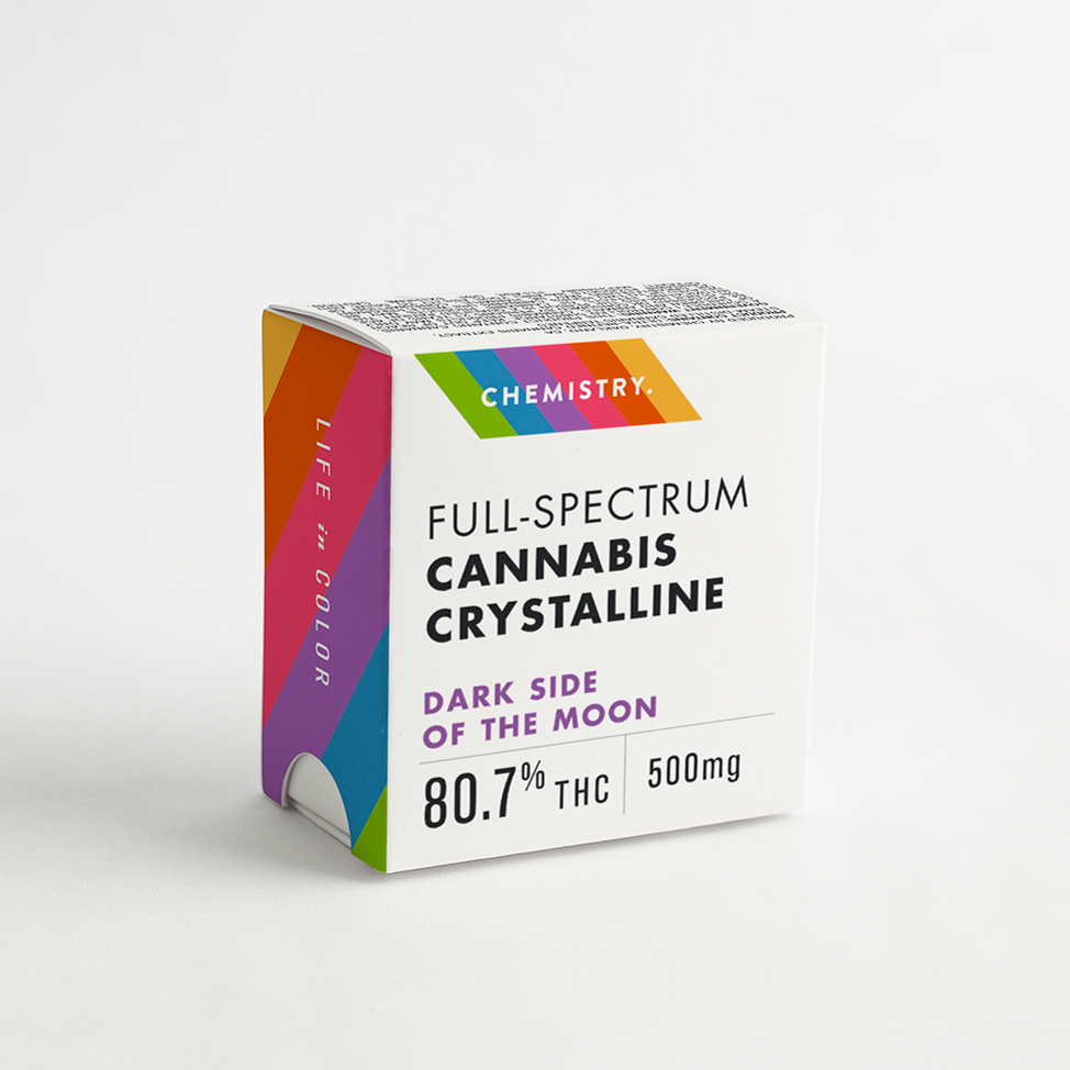 Chemistry Full-Spectrum Cannabis Crystalline Packaging