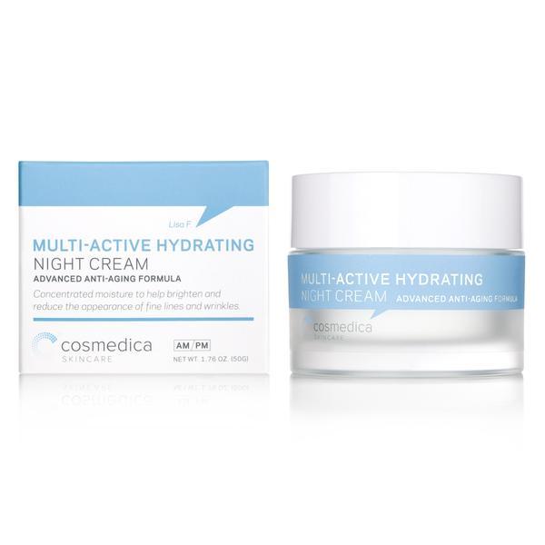 Cosmedica Multi-Active Night Cream Packaging Design