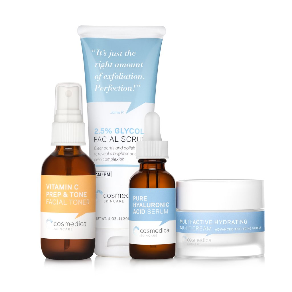 Cosmedica Skincare Packaging Design