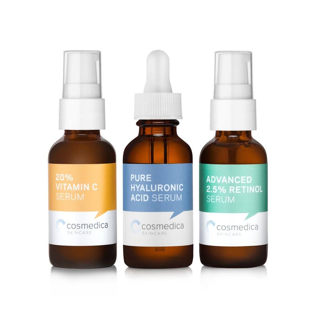 Cosmedica Skincare Serum Packaging