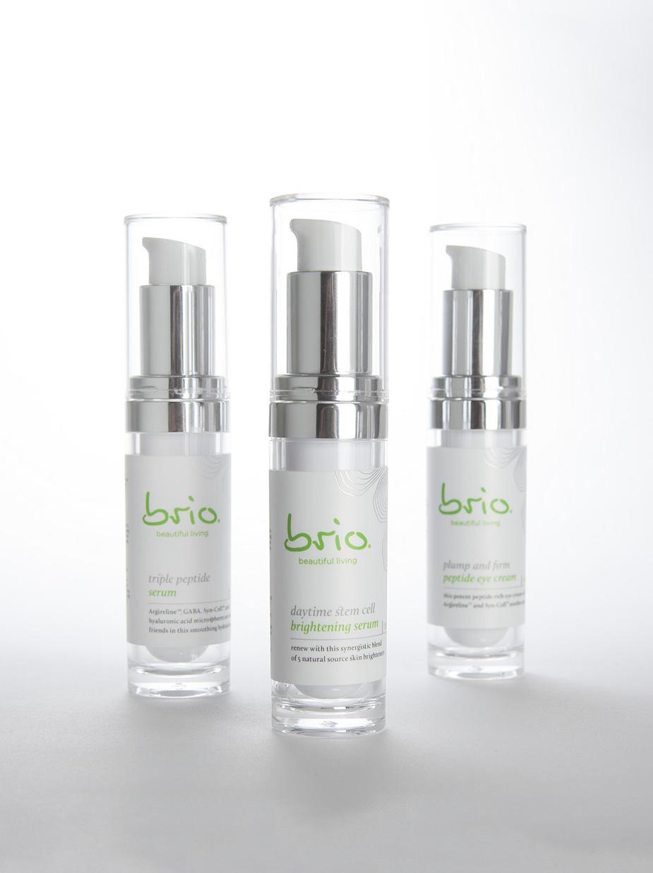 Brio Skincare Packaging Design
