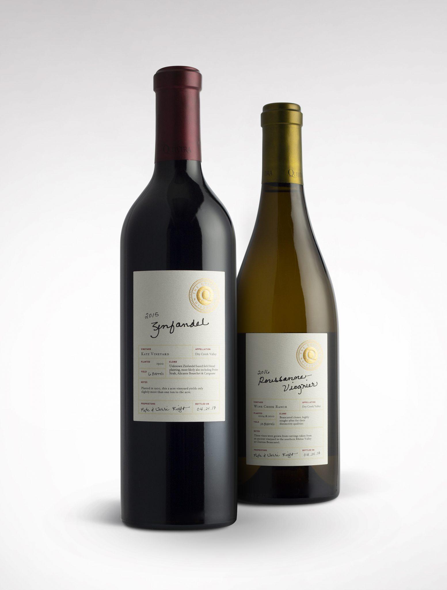 Quivira Collection wine label design