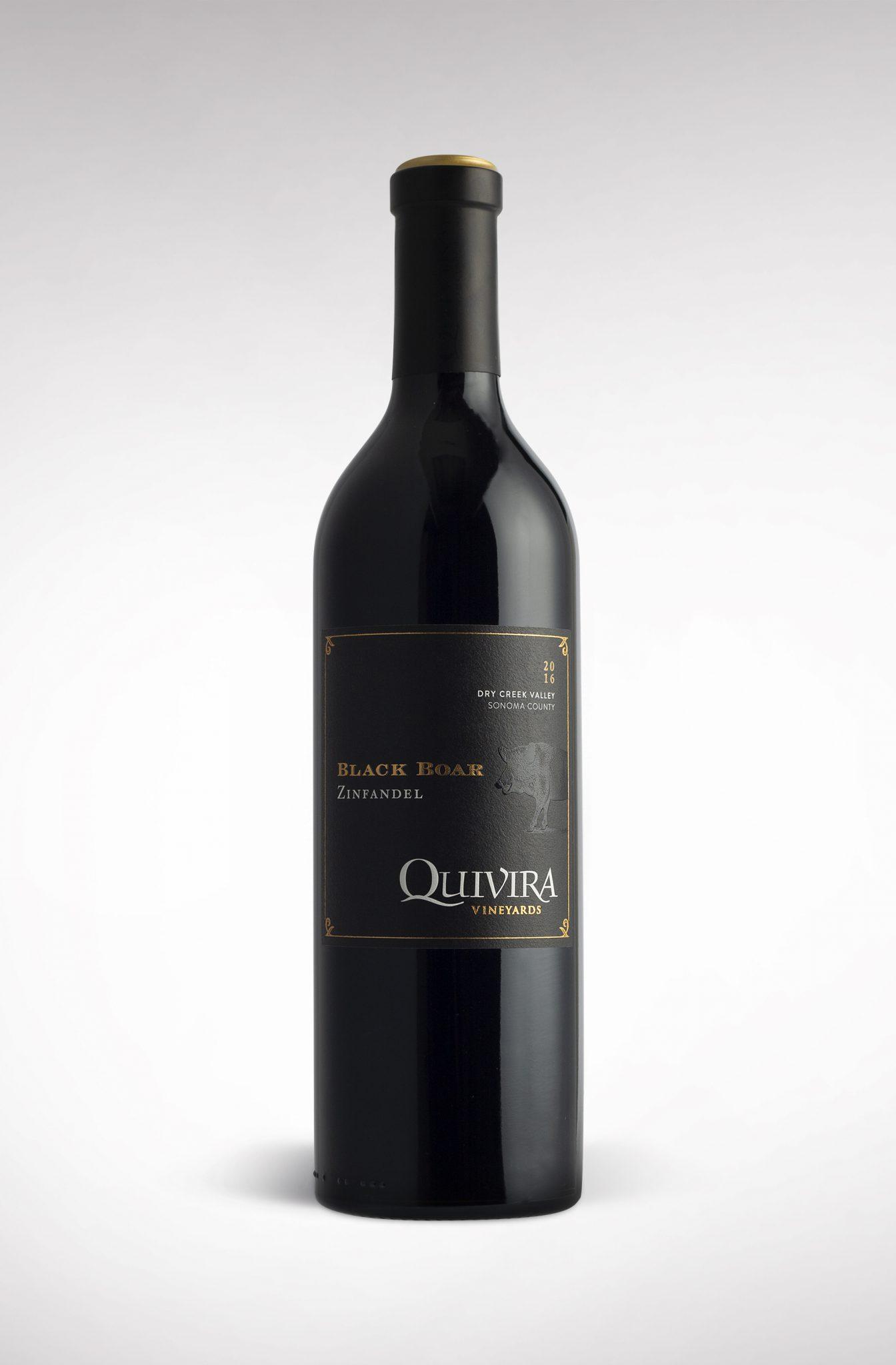 Black Boar by Quivira Wine Label Design